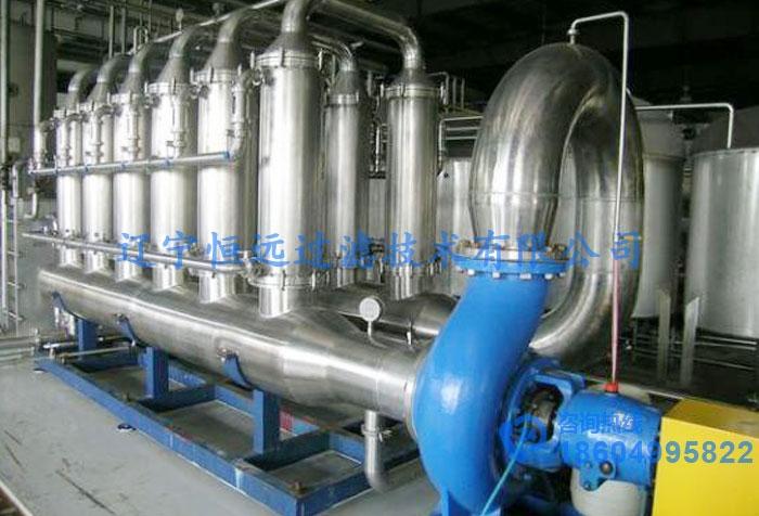 发酵液膜过滤设备
