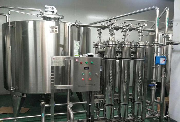 青汁饮料膜过滤设备