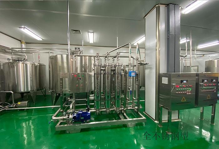 啤酒膜分离生产线